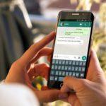 Как переадресовать сообщение в WhatsApp